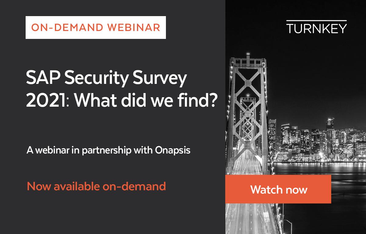 [KEY RESOURCES OD] SAP Security Survey WEBINAR