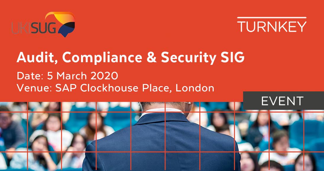 Audit, Compliance & Security SIG Event page image v2