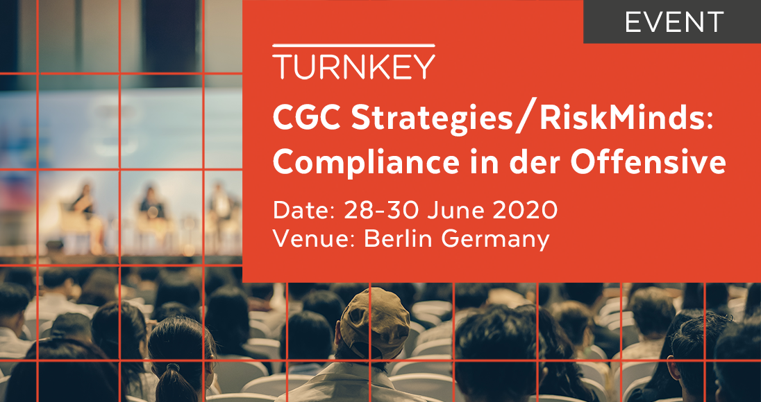 CGC Strategies. RiskMinds - Compliance in der Offensive Event page image