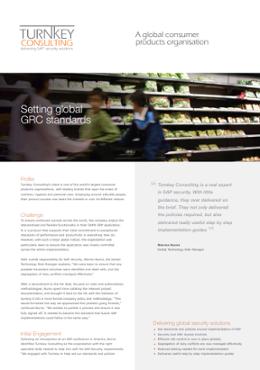 Setting global GRC standards-1