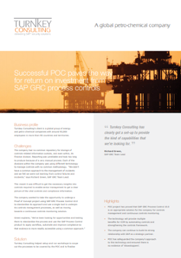Successful POC paves the way for return on investment from SAP GRC process controls-1