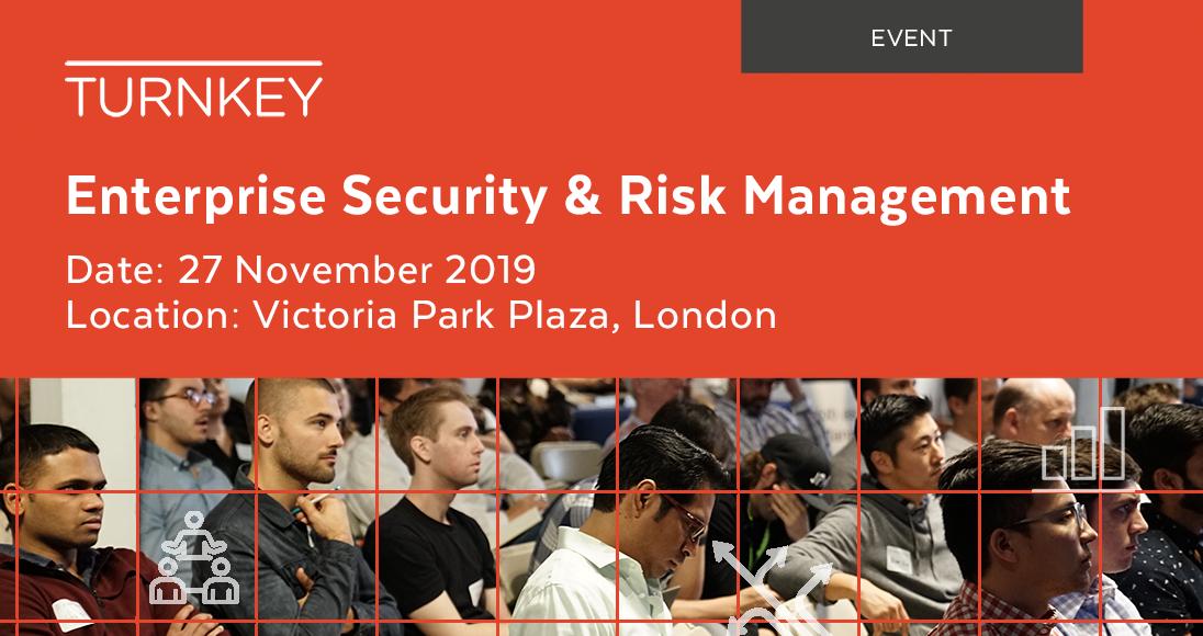 Enterprise Security & Risk Management Event page image