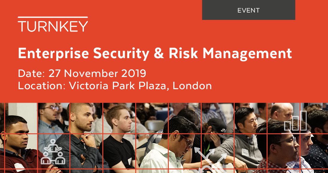 Enterprise Security & Risk Management Event page image