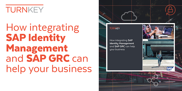 How integrating SAP IDM and SAP GRC can help your business twitter banner