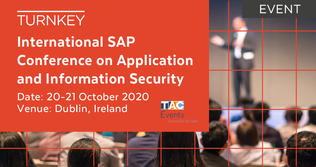 International SAP Conference on Application and Information Security Event page image