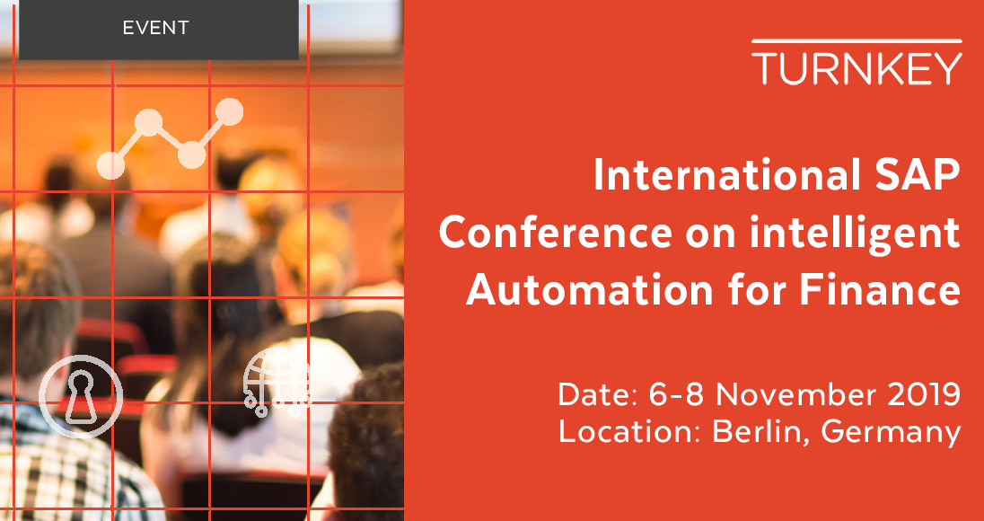 International SAP Conference on Intelligent Automation for Finance Event page image