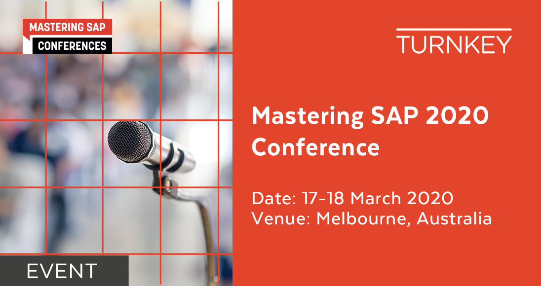Mastering SAP 2020 Event page image