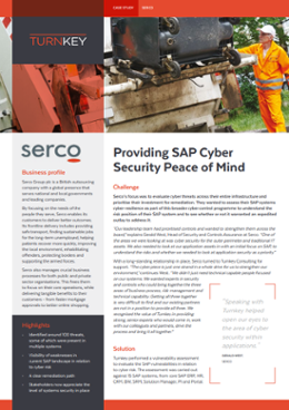 Providing SAP Cyber Security Peace of Mind-1