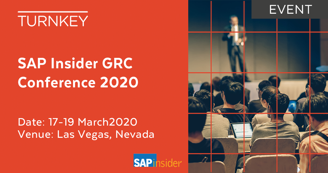 SAP Insider GRC Conference 2020 Event page image