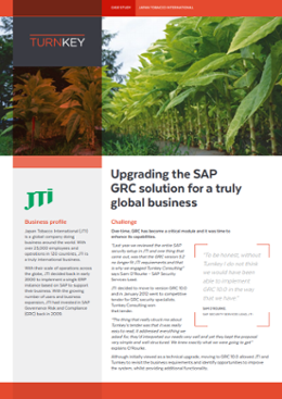 Upgrading the SAP GRC solution for a truly global business-1